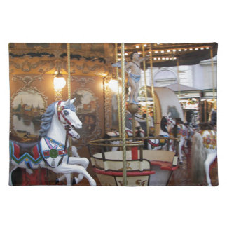 Vintage Fairground Carousel Placemat