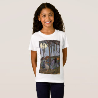Vintage - Fairies Dance Around a Tree, T-Shirt