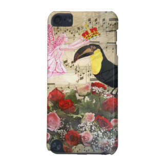Vintage fairy and bird collage iPod touch (5th generation) case