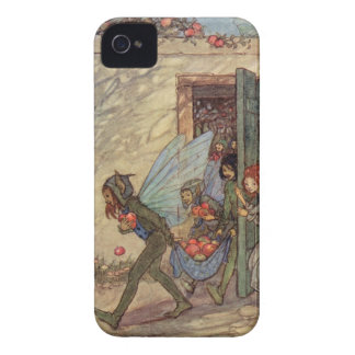 Vintage Fairy Art iPhone Case, by Edmund Dulac iPhone 4 Cases