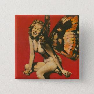 Vintage Fairy Button