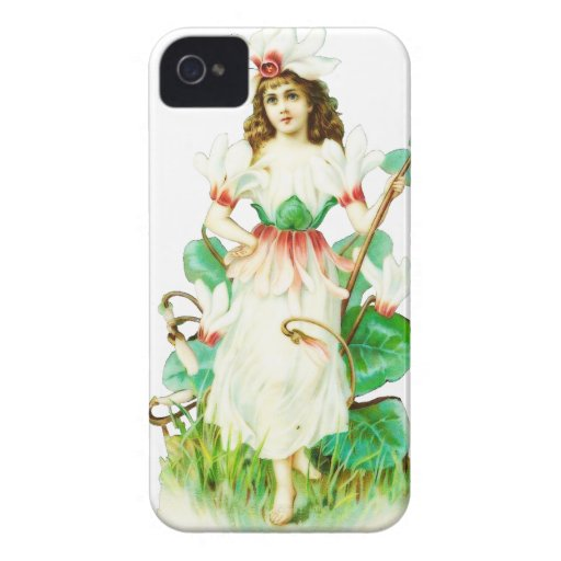 Vintage Fairy Case-Mate iPhone 4 Cases