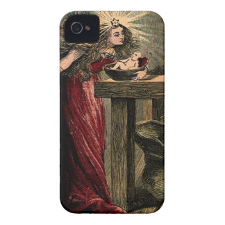 Vintage Fairy Godmother iPhone 4 Case-Mate Case
