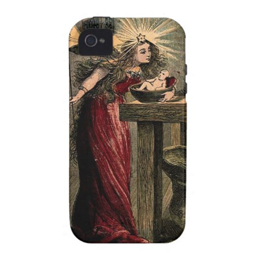 Vintage Fairy Godmother iPhone 4/4S Cover
