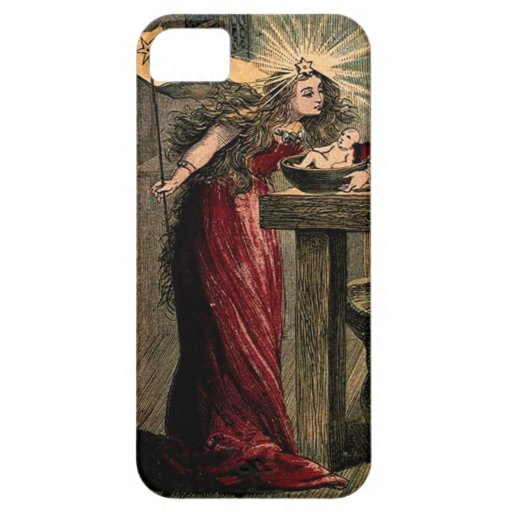 Vintage Fairy Godmother iPhone 5 Covers