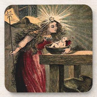 Vintage Fairy Godmother Coaster