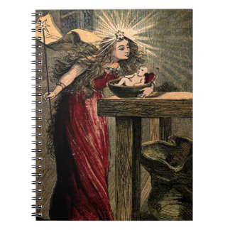 Vintage Fairy Godmother Notebook