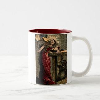 Vintage Fairy Godmother Two-Tone Coffee Mug