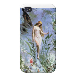 Vintage Fairy iPhone 4 Cover