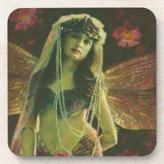 Vintage Fairy Nymph Coaster