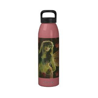 Vintage Fairy Nymph Water Bottle