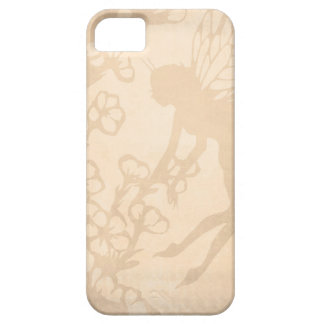 Vintage Fairy on Antique White iPhone 5 Cases