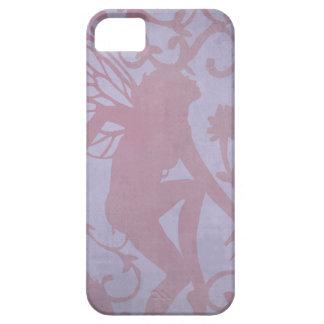 Vintage Fairy Pink on Purple iPhone 5 Cases