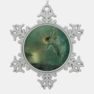 Vintage Fairy Snowflake Ornament