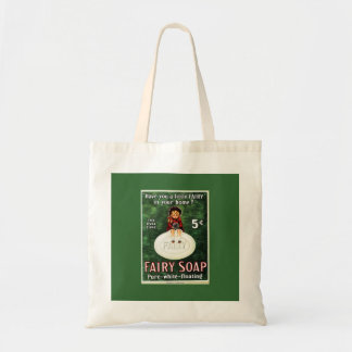 Vintage Fairy Soap Ad Bag