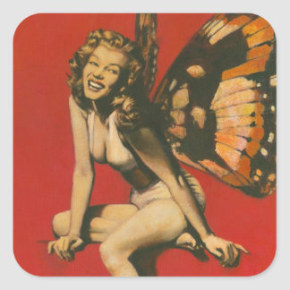 Vintage Fairy Sticker