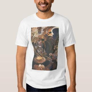 Vintage Fairy Tale, Aladdin and the Magic Lamp T Shirts