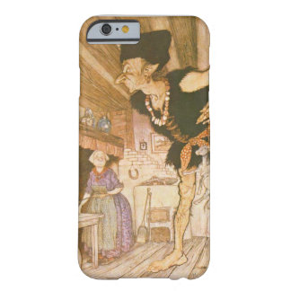 Vintage Fairy Tale Artwork on Cell Phone Case