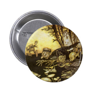 Vintage Fairy Tale, Band of Workmen by Rackham 6 Cm Round Badge
