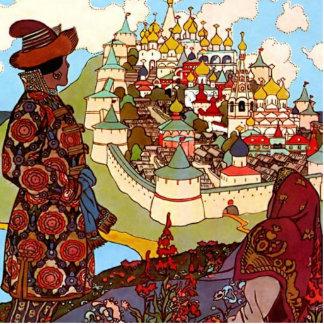 Vintage Fairy Tale Castle Standing Photo Sculpture