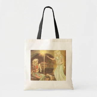 Vintage Fairy Tale, Cinderella and Fairy Godmother Bags