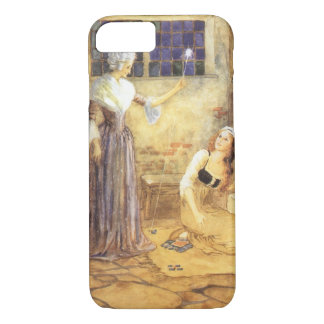Vintage Fairy Tale, Cinderella and Fairy Godmother iPhone 8/7 Case