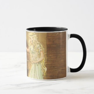 Vintage Fairy Tale, Cinderella and Fairy Godmother Mug
