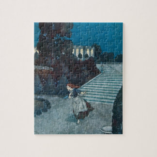 Vintage Fairy Tale, Cinderella by Edmund Dulac Jigsaw Puzzle