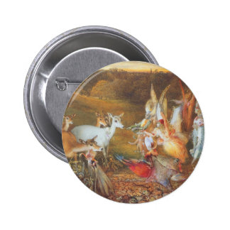 Vintage Fairy Tale, Enchanted Forest by Fitzgerald 6 Cm Round Badge