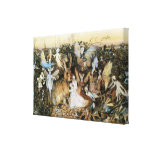 Vintage Fairy Tale Fairy Twilight, John Fitzgerald Gallery Wrapped Canvas