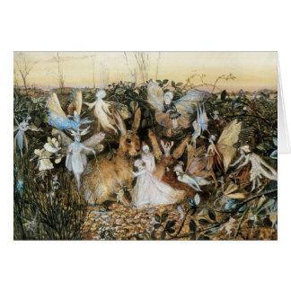 Vintage Fairy Tale Fairy Twilight, John Fitzgerald Card