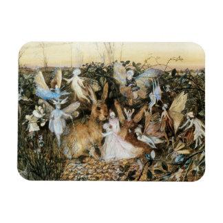 Vintage Fairy Tale Fairy Twilight, John Fitzgerald Rectangular Photo Magnet