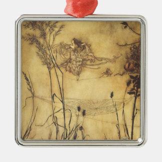 Vintage Fairy Tale, Fairy's Tightrope by Rackham Christmas Ornament
