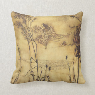 Vintage Fairy Tale, Fairy's Tightrope by Rackham Cushion