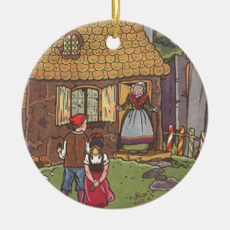 Vintage Fairy Tale, Hansel and Gretel by Hauman Christmas Ornament