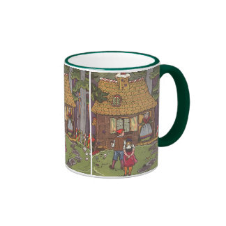 Vintage Fairy Tale, Hansel and Gretel by Hauman Coffee Mugs