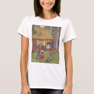 Vintage Fairy Tale, Hansel and Gretel by Hauman T-Shirt