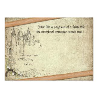 Vintage Fairy Tale 13 Cm X 18 Cm Invitation Card