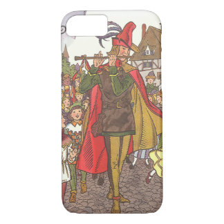 Vintage Fairy Tale Pied Piper of Hamelin by Hauman iPhone 7 Case