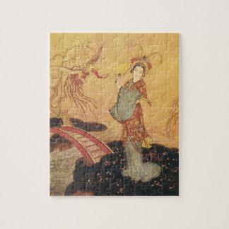 Vintage Fairy Tale Princess Badoura, Edmund Dulac Jigsaw Puzzle