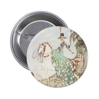 Vintage Fairy Tale, Princess Minette, Kay Nielsen 6 Cm Round Badge
