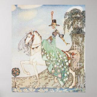 Vintage Fairy Tale, Princess Minette, Kay Nielsen Poster