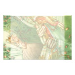 Vintage Fairy Tale, Sleeping Beauty Princess Personalized Stationery