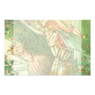 Vintage Fairy Tale, Sleeping Beauty Princess Stationery