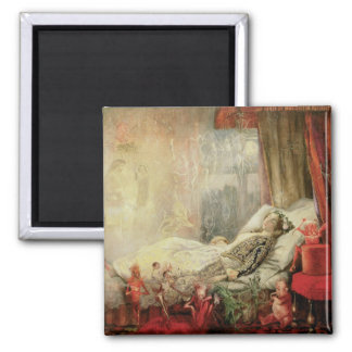 Vintage Fairy Tale, Stuff that Dreams Are Made of Square Magnet