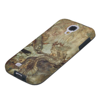 Vintage Fairy Tale, The Mermaid by Edmund Dulac Galaxy S4 Case