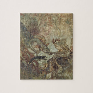 Vintage Fairy Tale, The Mermaid by Edmund Dulac Jigsaw Puzzle