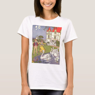 Vintage Fairy Tale, The Ugly Duckling by Hauman T-Shirt