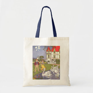 Vintage Fairy Tale, The Ugly Duckling by Hauman Canvas Bags