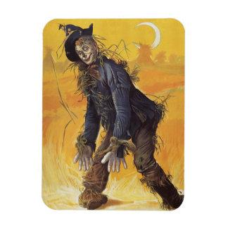 Vintage Fairy Tale, the Wizard of Oz Scarecrow Rectangular Photo Magnet